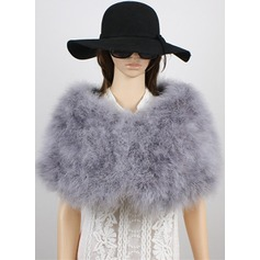 Feather/Fur Fashion Wrap