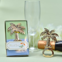 Creative Coconut Tree Design Zinc alloy Bottle Openers