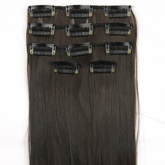 Straight Synthetic Hair Clip in Hair Extensions 5PCS