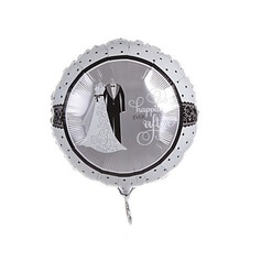 Bride and Groom Aluminium Foil Balloon