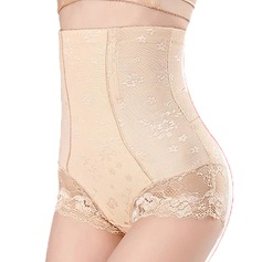 Women Sexy/Classic Polyester/Lace Breathability Panties Shapewear (125187819)