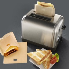 Treats Non Stick Reusable Toaster Bags for Sandwich and Grilling