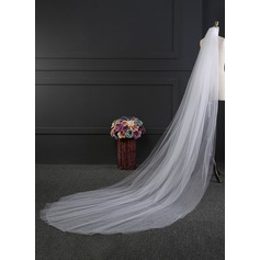 Two-tier Cut Edge Cathedral Bridal Veils (006114030)