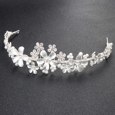 Ladies Amazing Alloy Tiaras With Venetian Pearl/Crystal