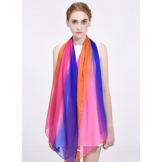 Gradient color Light Weight/Oversized Mulberry silk Silk Scarf