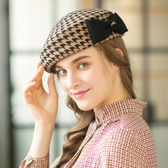 Ladies' Elegant/Exquisite/Vintage Wool With Bowknot Beret Hat