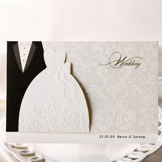 Personalized Top Fold Invitation Cards