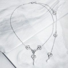 Ladies' Elegant Rhinestones Necklaces For Bride/For Bridesmaid/For Mother/For Friends/For Couple