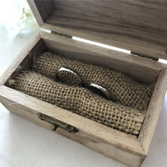 Personalized Ring Box in Wood