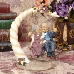 Figurine Classic Couple Resin Anniversary Cake Topper (119062228)