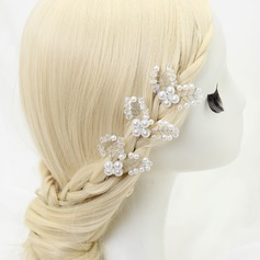 Beautiful Rhinestone/Alloy/Imitation Pearls Hairpins