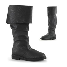 Women's Leatherette Flat Heel Flats Boots Knee High Boots shoes