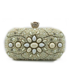 Elegant Silk/Acrylic/Beading Clutches/Bridal Purse