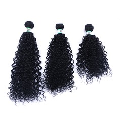 Curly Synthetic Hair Human Hair Weave (Set of 3)
