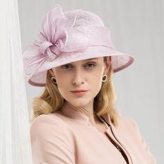 Dames Romantique/Style Vintage Batiste Chapeaux de type fascinator/Kentucky Derby Des Chapeaux/Chapeaux Tea Party
