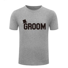 Groom Gifts - Cotton T-Shirt