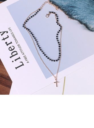 Unique Alloy With Imitation Crystal Women's Fashion Necklace