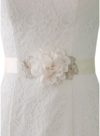 Fashional Satin Sash With Flower