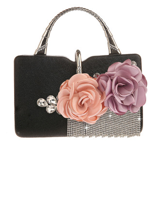 Attractive PU Clutches/Top Handle Bags