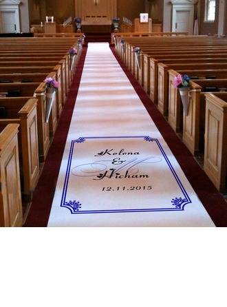 Personalized Print Cloth Aisle Runners