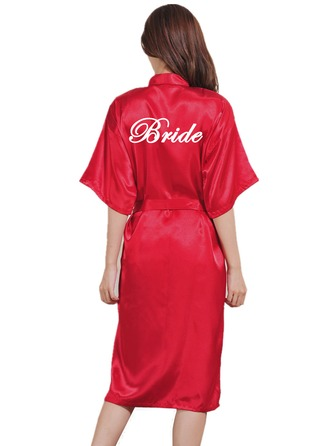 Personalized Polyester With Tea-Length