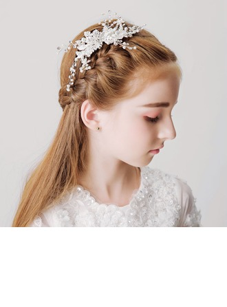 With Imitation Pearls/Rhinestones Hairpins (Sold in a single piece)