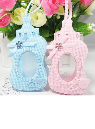 Lovely Bottle shaped Favor Bags With Rhinestone