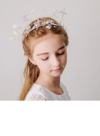 With Imitation Pearls Headbands (Sold in a single piece)