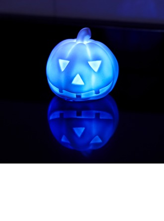 Color changing Pumpkin Plastic LED Lights