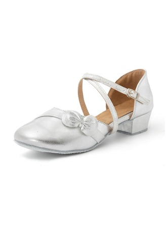 Kids' Leatherette Ballroom Dance Shoes