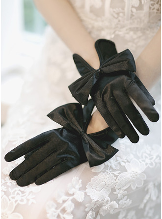 Satin Party/Fashion Gloves/Bridal Gloves With Bow