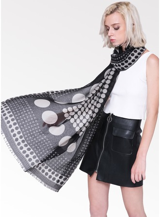 Polka Dots Light Weight/Oversized Cotton Scarf
