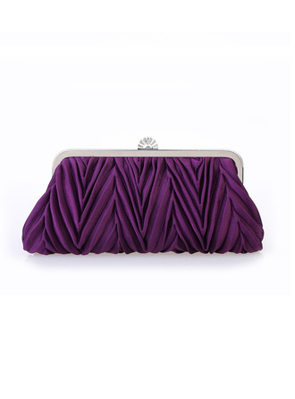 Elegant/Unique Satin/Alloy Clutches