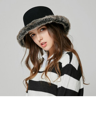 Ladies' Glamourous Wool Bucket Hats