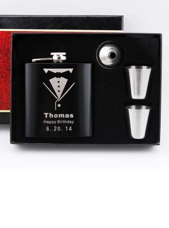Flasks Classic Stainless Steel Personalized Gifts