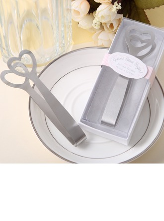 Heart Design Stainless Steel Sugar Tongs