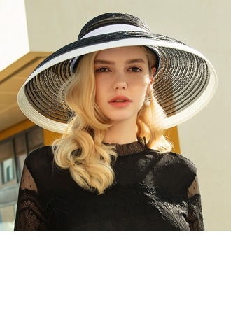 Ladies' Beautiful/Glamourous/Elegant Polyester Beach/Sun Hats