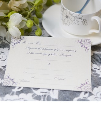 Classic Style Flat Card Invitation Cards