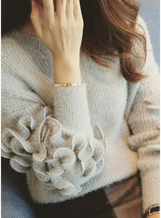 Plain Mohair Turtleneck Sweater Sweaters