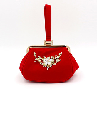 Elegant/Unique/Attractive Suede Clutches/Bridal Purse/Evening Bags