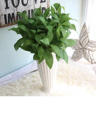 13'' Synthetic Fabric Artificial Greenery (Set of 2)
