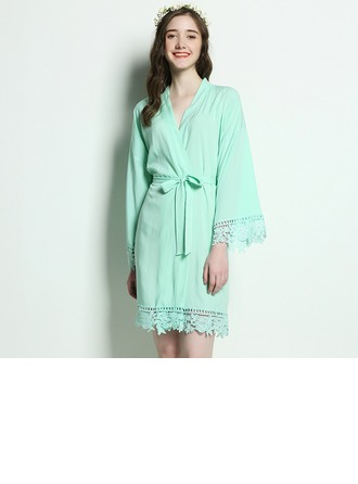 Bridesmaid Gifts - Beautiful Classic Elegant Cotton Robe