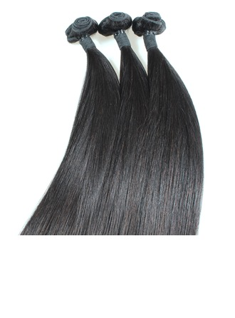5A Virgin/remy Straight Mid-Length Long Human Hair Hair Weaves/Weft Hair Extensions (Sold in a single piece) 100g