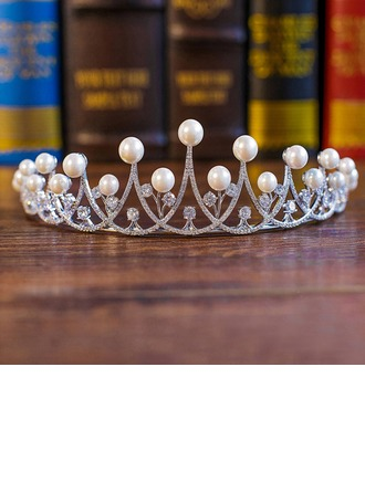 Filles Simple Alliage/De faux pearl Tiaras