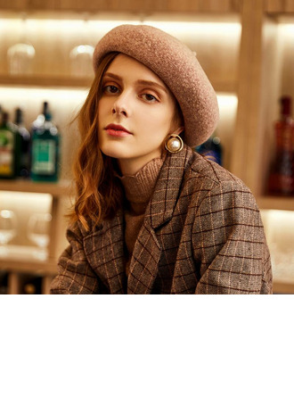 Ladies' Glamourous/Classic/Pretty Wool/Acrylic Beret Hats