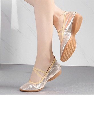 Women's Leatherette Modern Practice Dance Shoes