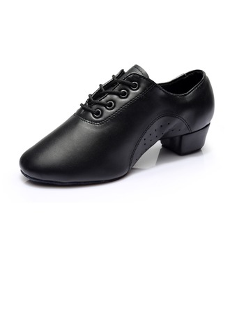 Men's Kids' Leatherette Heels Latin Dance Shoes