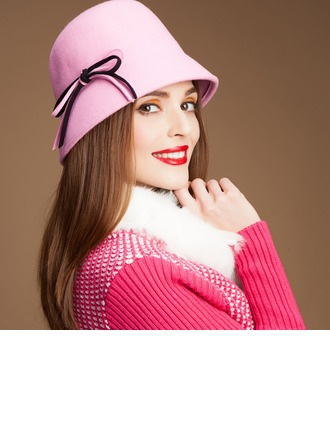 Ladies' Gorgeous Autumn/Winter Wool With Bowler/Cloche Hat