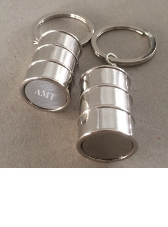 Personalized Stainless Steel/Zinc Alloy Keychains   (5 letters or less)