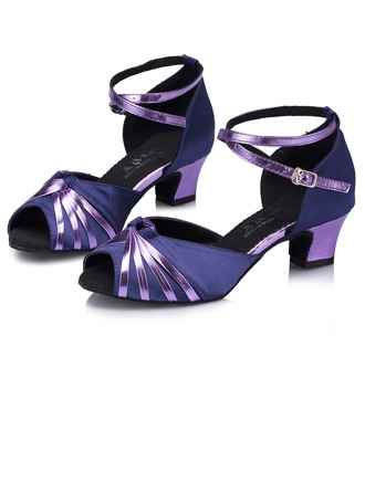 Women's Heels Sandals Latin With Hollow-out Dance Shoes